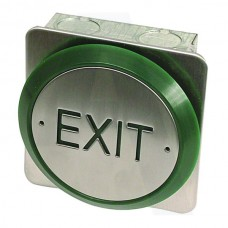 Asec All Active Small Push Plate Exit Button