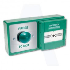 Asec Combined Exit Button and Call Point (Asec Combined Exit Button and Call Point) Grant Haze Architectural Ironmongers and Builders Merchants