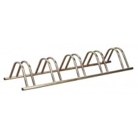 5 Section Stand Alone Cycle Rack