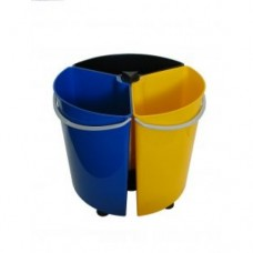 Rotating 39 Litre Triple Recycling Bin (ROTBIN) Grant Haze Architectural Ironmongers and Builders Merchants