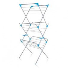 3 Tier Silver Airer (IH86490100V) Grant Haze Architectural Ironmongers and Builders Merchants
