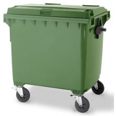 Industrial Wheelie Bin 1100 Litre Drop Front