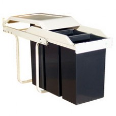 Built in Multi Box Recycling Bin 30 Litre (MULTIBOX) Grant Haze Architectural Ironmongers and Builders Merchants