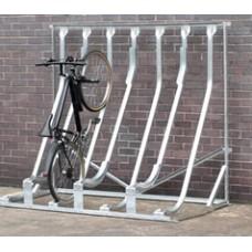 Semi Vertical Multi Bike Rack (SEMIVERT) Grant Haze Architectural Ironmongers and Builders Merchants