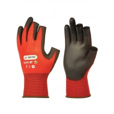 Digit Red 1 PU Palm Glove