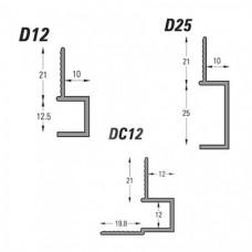 Type D - Door Reveal Bead (D) Grant Haze Architectural Ironmongers and Builders Merchants