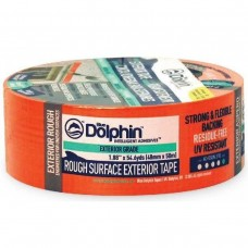 Orange Dolphin Exterior Rough Surface Tape