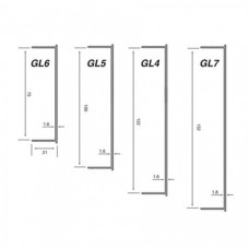 Type GL - Partitioning Bead (GL) Grant Haze Architectural Ironmongers and Builders Merchants