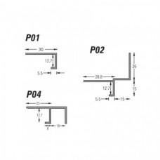 Type P - Plasterboard Edge Bead (P) Grant Haze Architectural Ironmongers and Builders Merchants