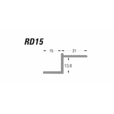 Type RD - Deep Reveal Bead/Shadow Gap Bead (RD) Grant Haze Architectural Ironmongers and Builders Merchants