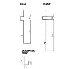 Type SKR - Skirting Reveal Bead (SKR) Grant Haze Architectural Ironmongers and Builders Merchants