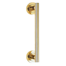 Contemporary Calla Pull Handle on Rose - AA14