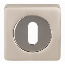 Ultimo Square Euro Escutcheon - 3623-SQ (3623-SQ) Grant Haze Architectural Ironmongers and Builders Merchants