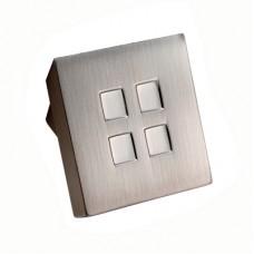 Quadra Knob - FTD278 (FTD278) Grant Haze Architectural Ironmongers and Builders Merchants