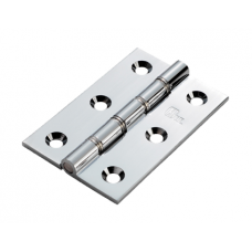 Double Stainless Steel Washered Brass Butt Hinge (HDSSW2) Grant Haze Architectural Ironmongers and Builders Merchants