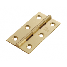 Solid Drawn Brass Butt Hinge - HSD3 (HSD3) Grant Haze Architectural Ironmongers and Builders Merchants