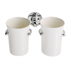 Double Tumbler Holder With Tumblers - LE11 (LE11) Grant Haze Architectural Ironmongers and Builders Merchants