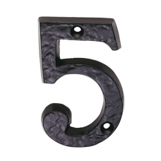 Black Antique Door Numerals - LF5549