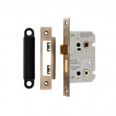 Easi-T Residential Bathroom Lock 64mm BAE5025 (BAE5025) Grant Haze Architectural Ironmongers and Builders Merchants