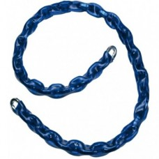 10mm x 1.2 Metre Blue Sleeved Security Chain - CHAINSL