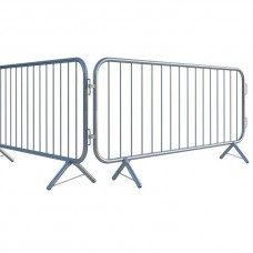 Fixed Leg 2.3m Bar Pedestrian Barrier