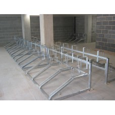 2 Tier Galvanised Cycle Stand