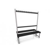 1500mm Cloakroom Double Bench