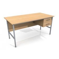 1500mm Single Ped Office Desk