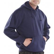 Navy Hooded Sweat Shirt