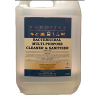 Bactericidal Multi-Purpose Cleaner and Sanitiser 5lt
