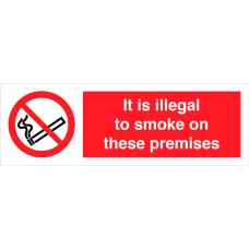 It is illegal to smoke