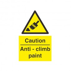 Caution Anti Climb Paint