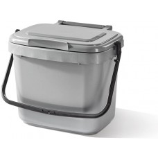 5 Litre Silver Food Kitchen Caddy