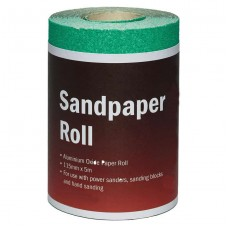 Aluminium Oxide Sandpaper Roll 180 Grit