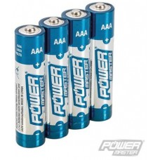 AAA Super Alkaline Battery 4pk
