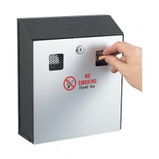 Wall-Mounted Cigarette End Bin