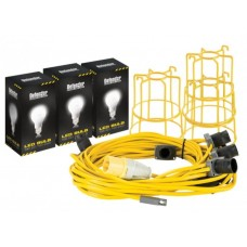 LED Festoon Kit 22m