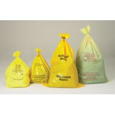 Yellow Hazardous Waste Bags