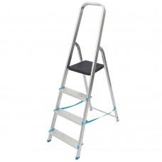 Aluminium 4 Tread Platform Step Ladder
