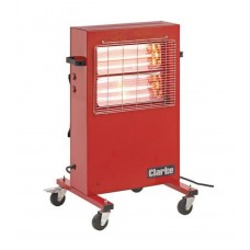Rapid Red Rad 110v 3kw Portable Commercial Infrared Radiant Heater