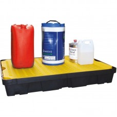 100L Spill Tray with Removable Grid